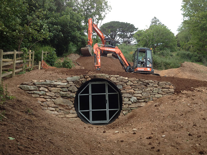 Earthworks and tunnel construction Devon